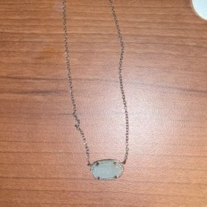 White Kendra Scott Necklace